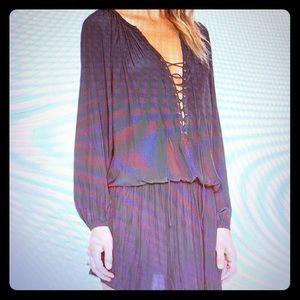 NWOT Ramy Brook silk blouson dress